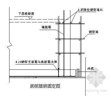 深圳某塔楼钢筋工程施工方案