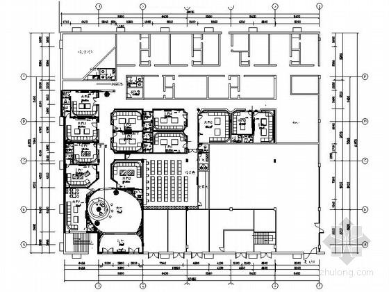 [郑州]某豪华娱乐KTV室内装修施工图(含效果)
