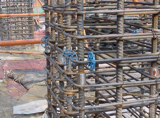 商场裙楼钢筋工程施工方案