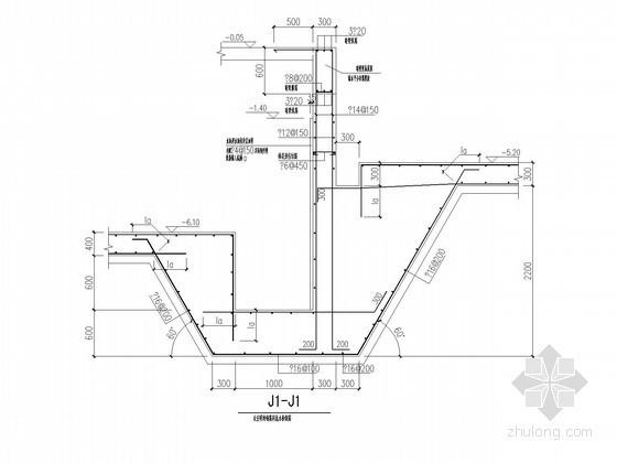地下室底板、外墙节点构造详图
