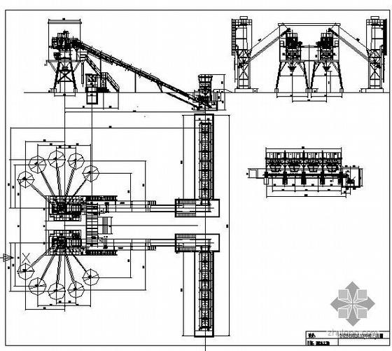 某混凝土拌和站结构施工图