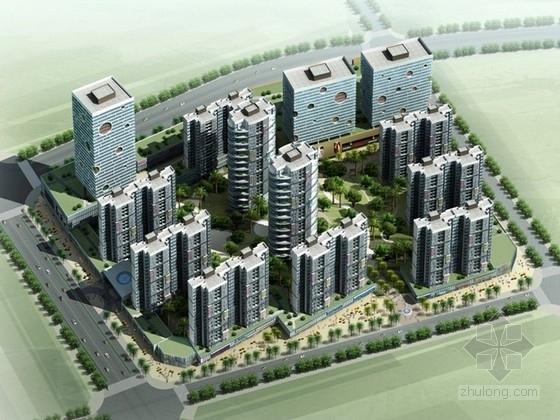 [广东]住宅区规划及单体设计方案文本(含CAD)