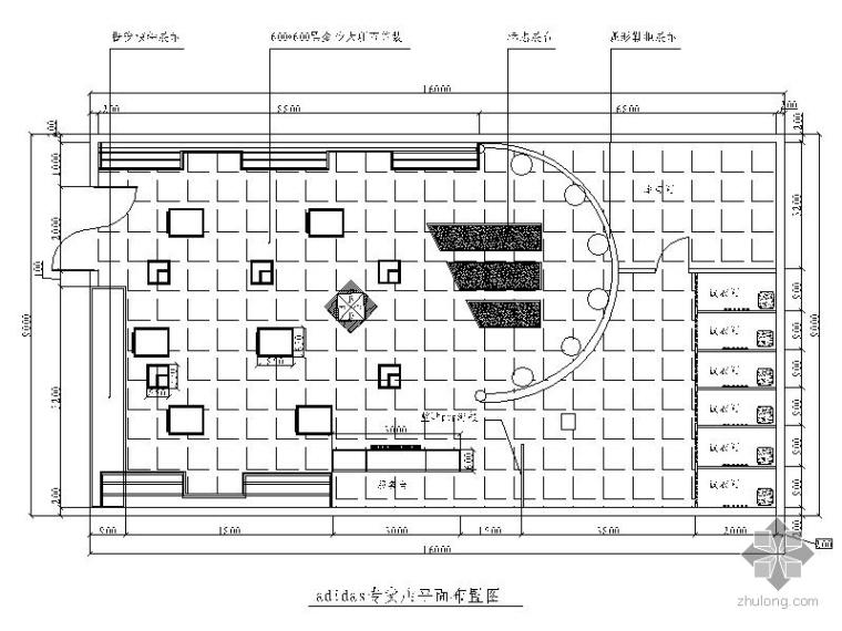 某市阿迪达斯专卖店室内装修方案(含效果)_1