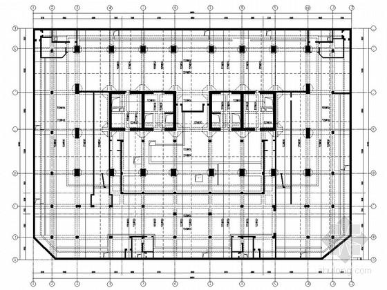 框筒结构办公楼结构施工图