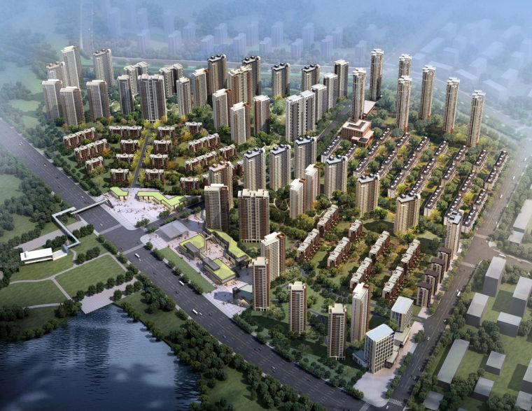 [吉林]沈阳万科香湖盛景项目 规划建筑方案设计 (JPG+148页)