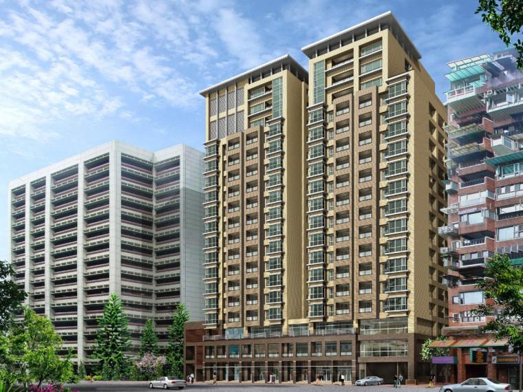 六层框架结构宿舍楼建筑工程量计算实例