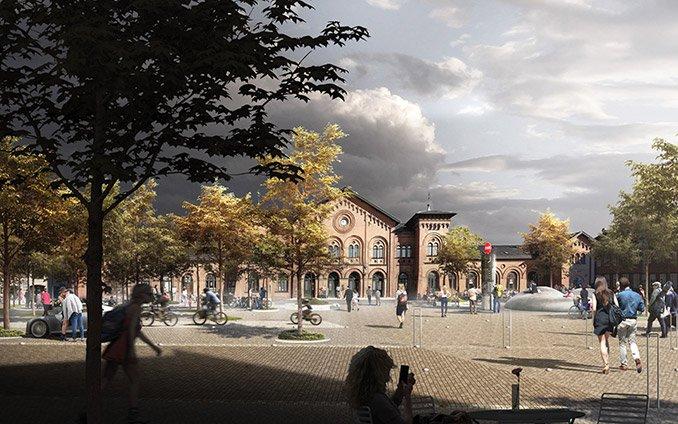 丹麦Slagelse大学校园的改造