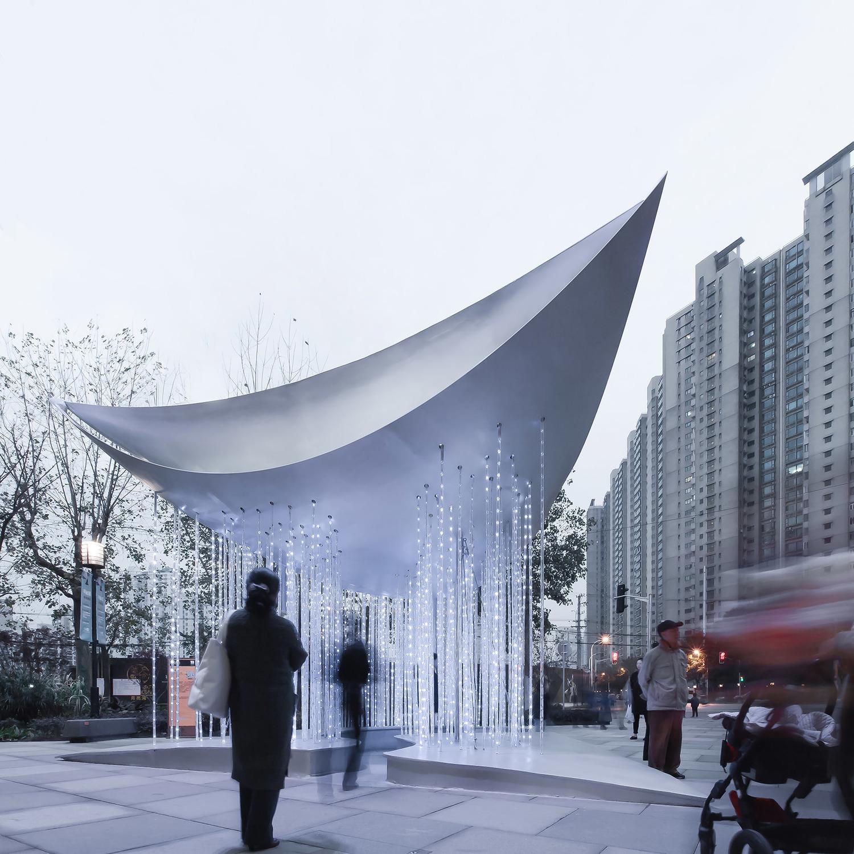 上海灯光艺术节装置