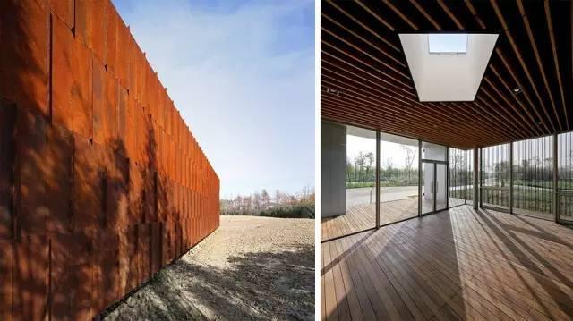 看建筑大师是如何使用锈钢板的?_25
