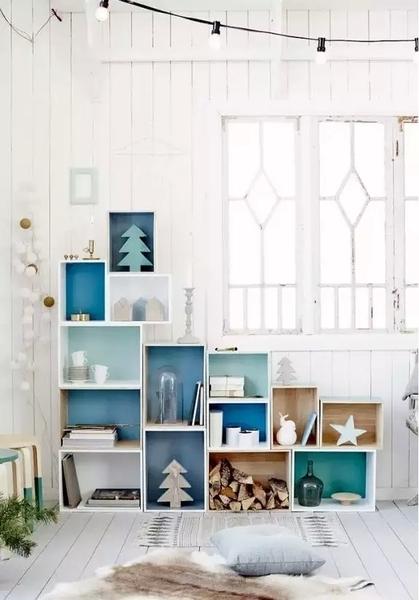 教你轻松实现北欧风,小户型客厅北欧风格装修效果
