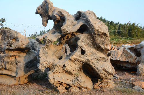 英德英石原地产英德盛产大型的景观石,大型园林景观石_3