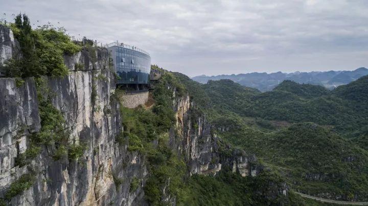 中国第一个百米崖壁上的美术馆!_3