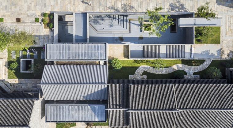 徐州现代语境表现的城墙博物馆外部实景图 (1)