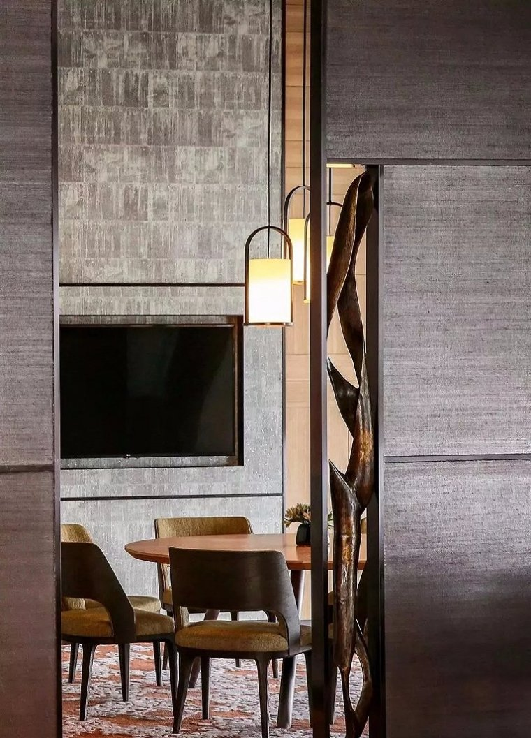 西安雍容盛大的现代君悦酒店室内实景图 (4)
