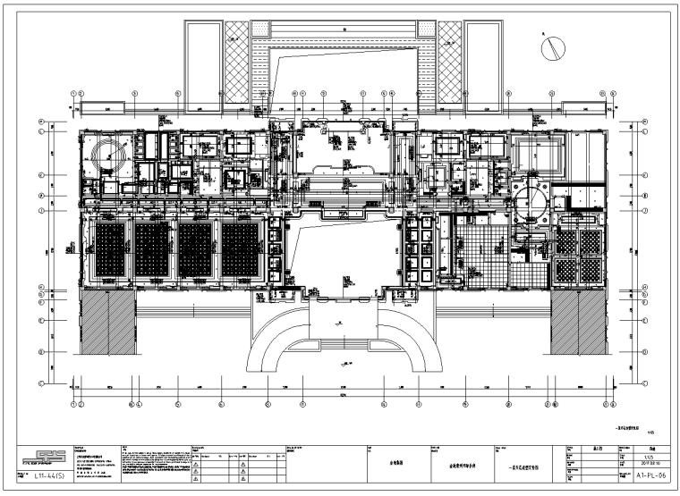 金地常州天际会所精装修施工图及效果图(54张)_4