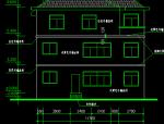 三层翡翠山庄别墅建筑施工图