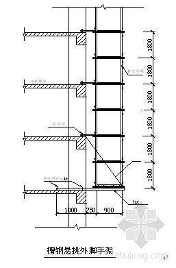江西某高层建筑外脚手架施工方案