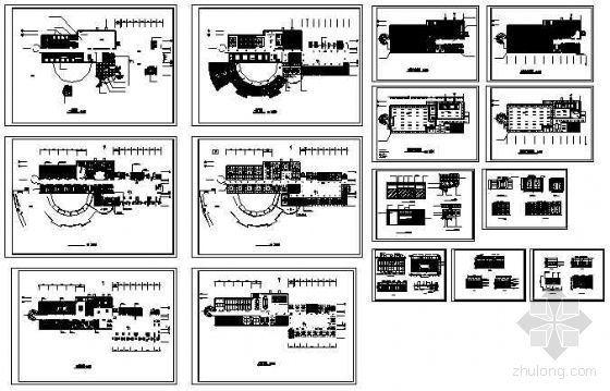 情报楼装修方案图-4