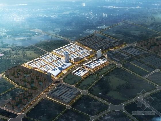 单体建筑酒店设计资料下载-[河南]现代风格景观式商业广场及单体建筑设计方案文本