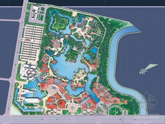 [成都]欢乐游乐园总体规划设计方案