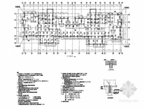 [山东]20层剪力墙结构住宅楼结构施工图