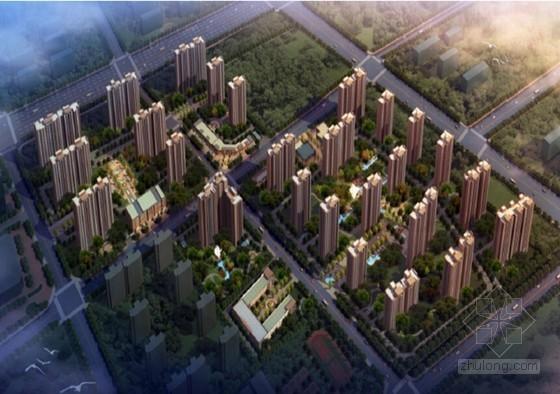 高层住宅楼多塔防碰撞施工方案
