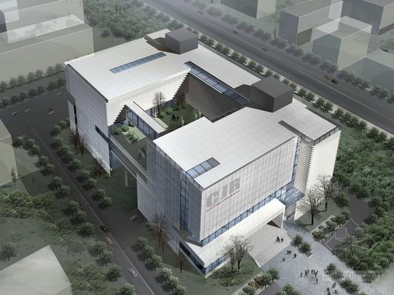 [深圳]6層現代風格殘疾綜合服務中心建筑設計方案文本