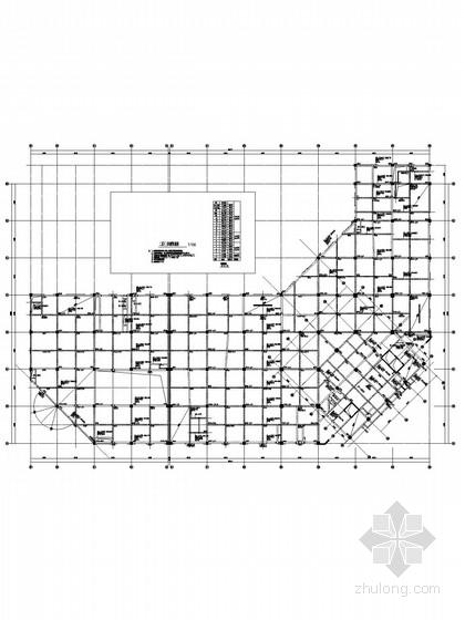 15层框架剪力墙带一层地下室商住楼结构施工图