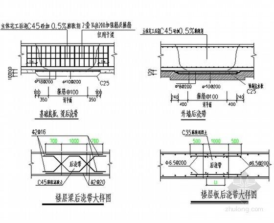 框剪结构住宅楼工程施工组织设计(200页)