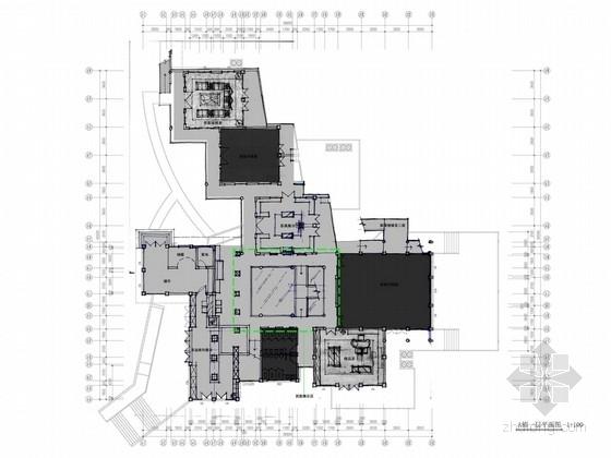 [深圳]中式风情文化主题快车旅馆室内装修方案图