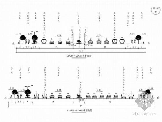 知名大院设计市政道路施工图全套1470张(含桥隧涵)