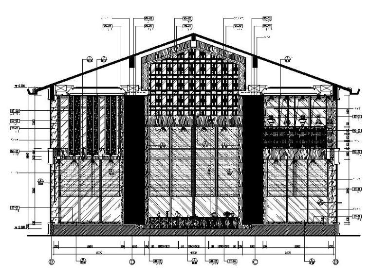 [成都]韵艺静雅中式风售楼处室内设计施工图(含实景图)_4