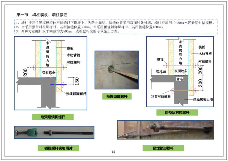 中国建筑四局施工质量管理标准化图集(106页,图文详细丰富)_5