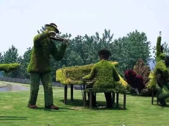 80个极美植物雕塑_31