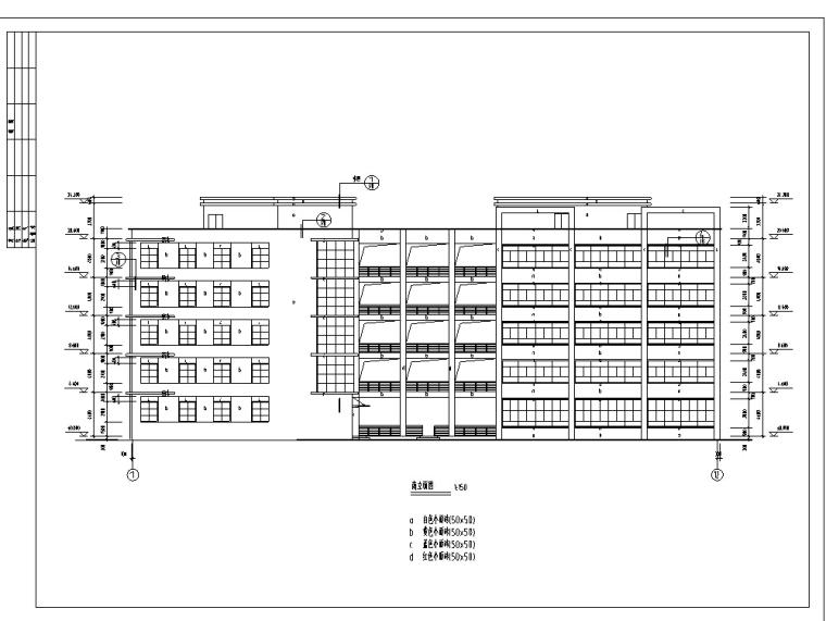 5套厂房建筑设计方案初设图CAD