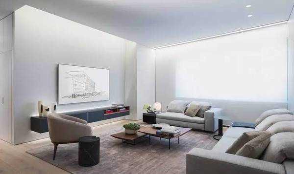 室内设计与建筑外观一样低调