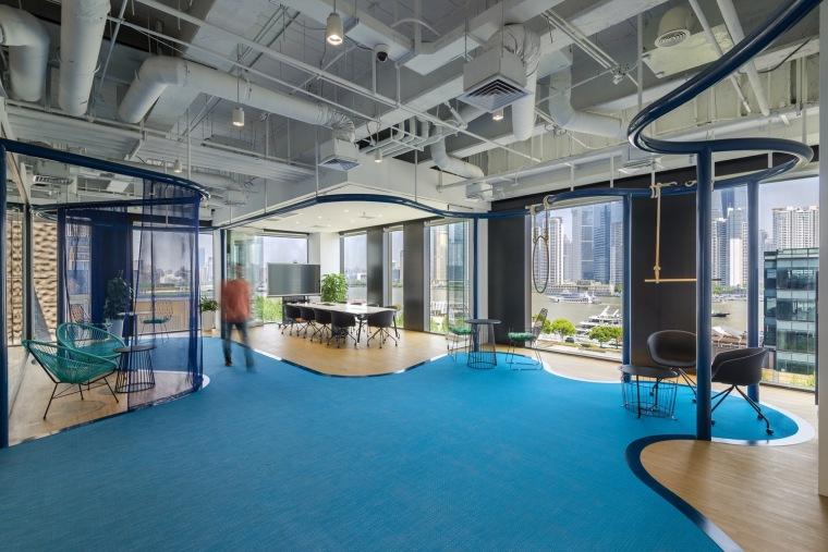 上海水下新世界办公室设计分享