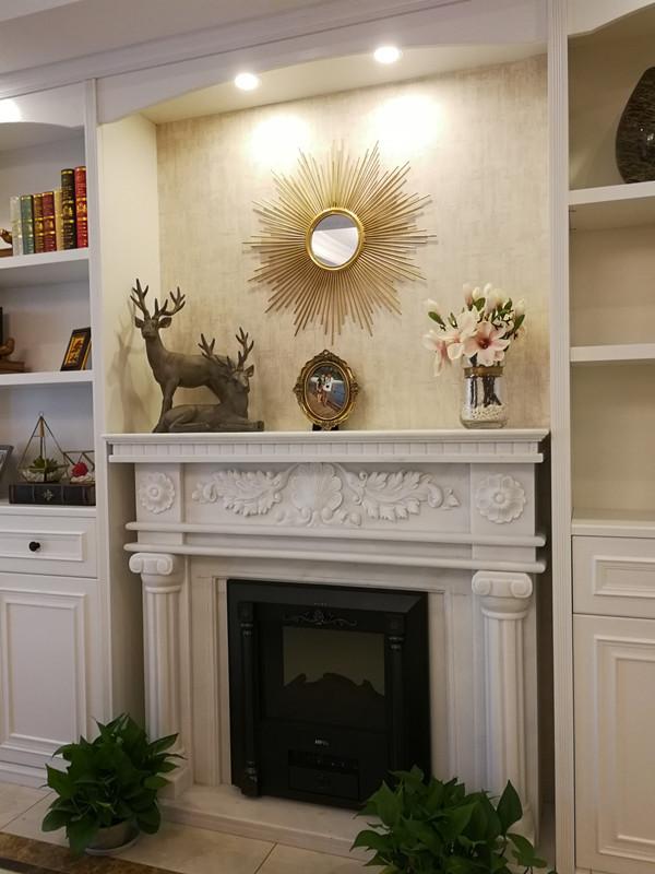 精典现代壁炉设计,点亮你的家