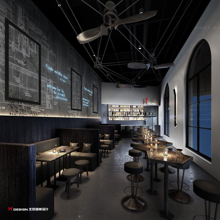 咖啡餐厅设计,红树林度假世界H·Lounge酒吧_5