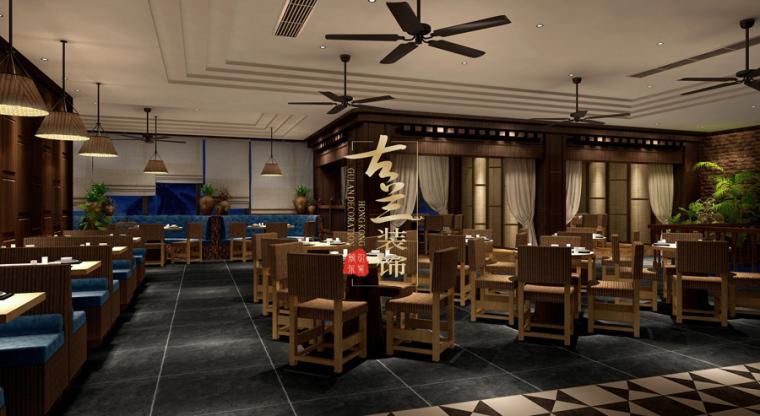 璟府小厨餐厅-成都主题餐厅设计-古兰装饰_11