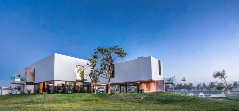 墨西哥Matiz住宅