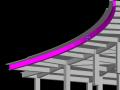 求教:梁宽500高800圆弧形,侧模如何支设较好?