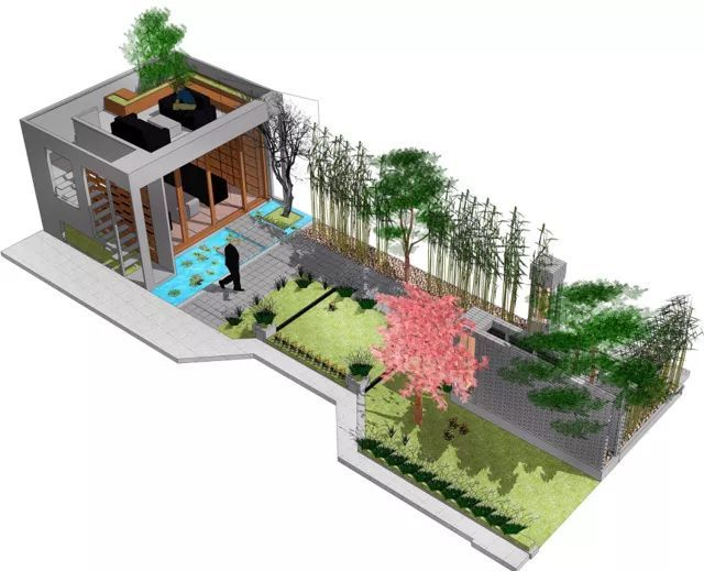 香山别墅庭院景观设计