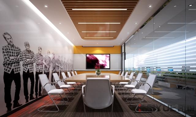 搜狐公司广州新办公室装修设计项目_3