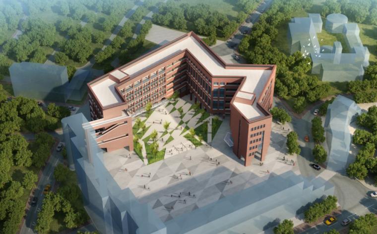 [广州]某学院楼建筑方案设计文本pdf