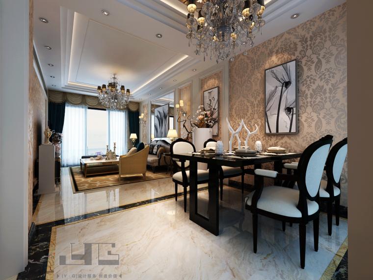 01-客厅-五环城-住宅环境装饰确认方案第1张图片