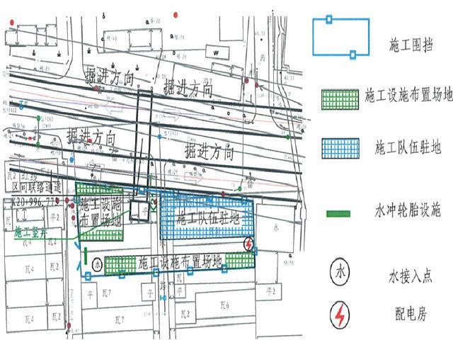 明挖顺作法双层三跨箱型结构车站及矿山暗挖法区间地铁工程施工组织设计321页
