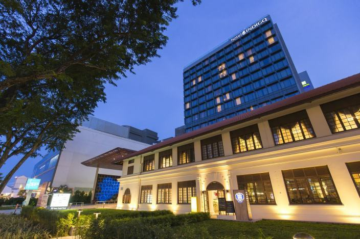 indigo酒店景观资料下载-Katong广场