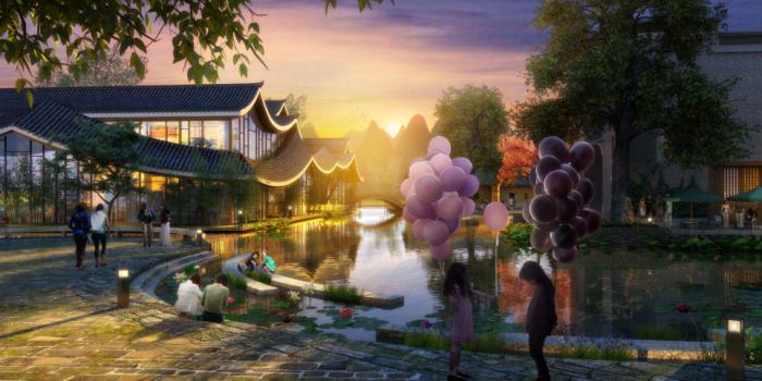 [广西]桂林风情古镇老街乡村景观设计方案(赠项目lumion动画)-效果图26