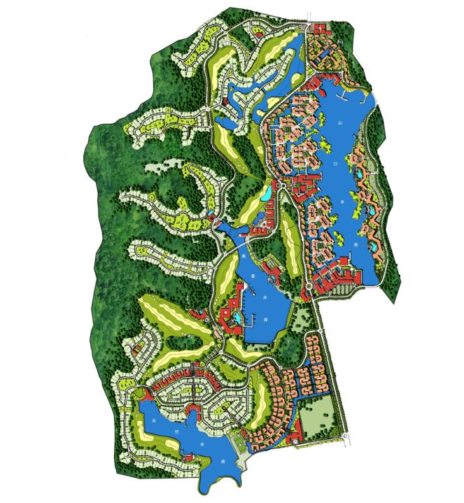 中信保利达南海高端生态休闲区总体概念规划